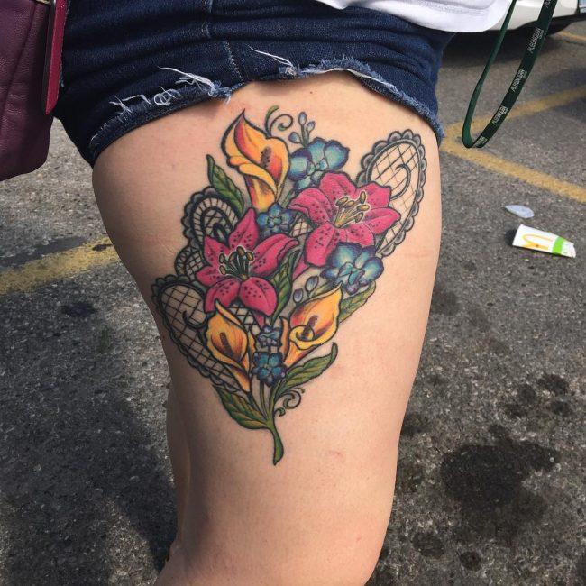 Lace Tattoo 78