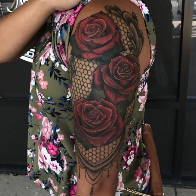 Lace Tattoo 79
