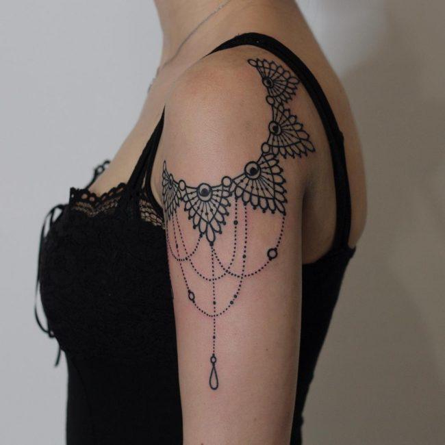 Lace Tattoo 81