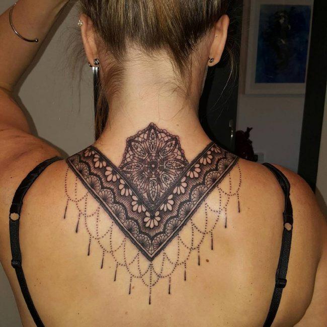 Lace Tattoo 84