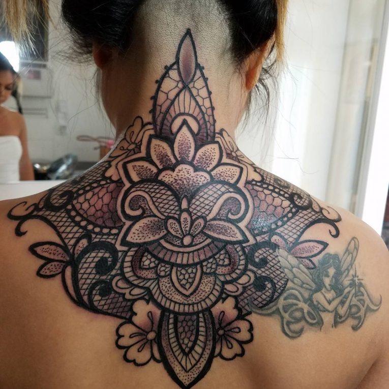 Lace Tattoo 86