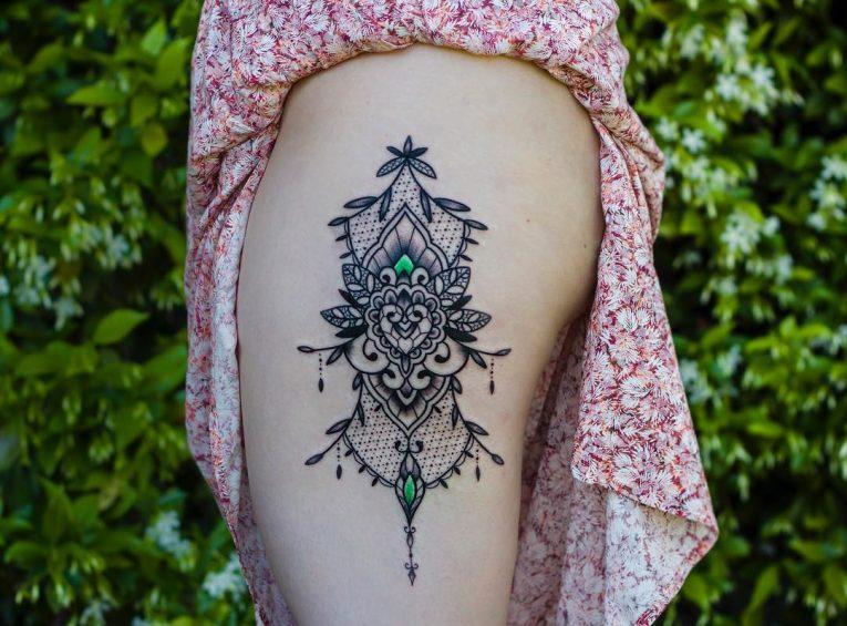 Lace Tattoo 87