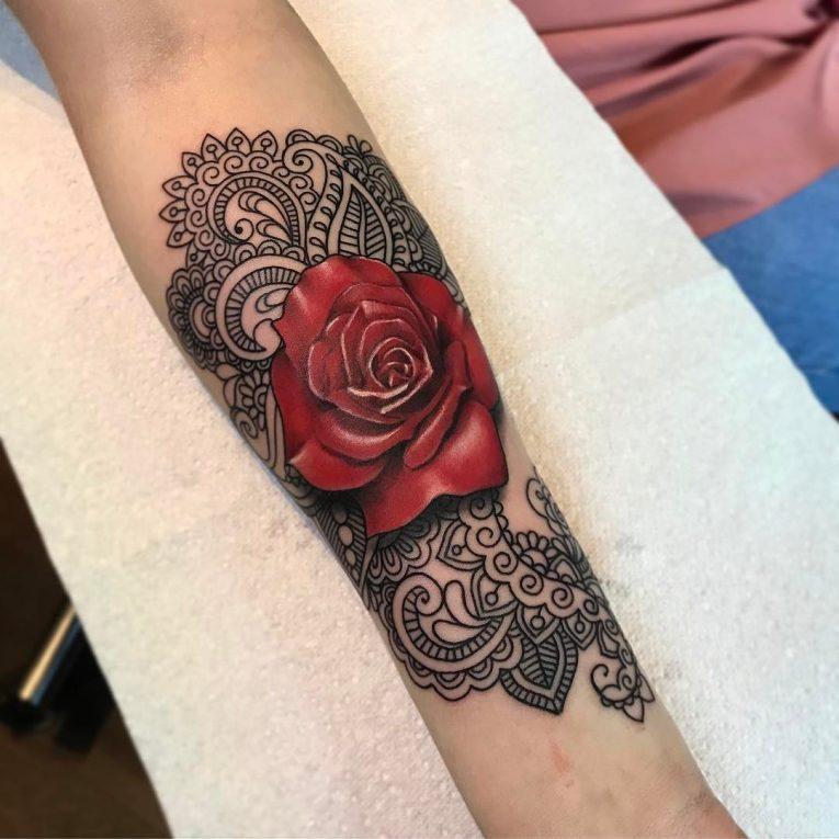 Lace Tattoo 89