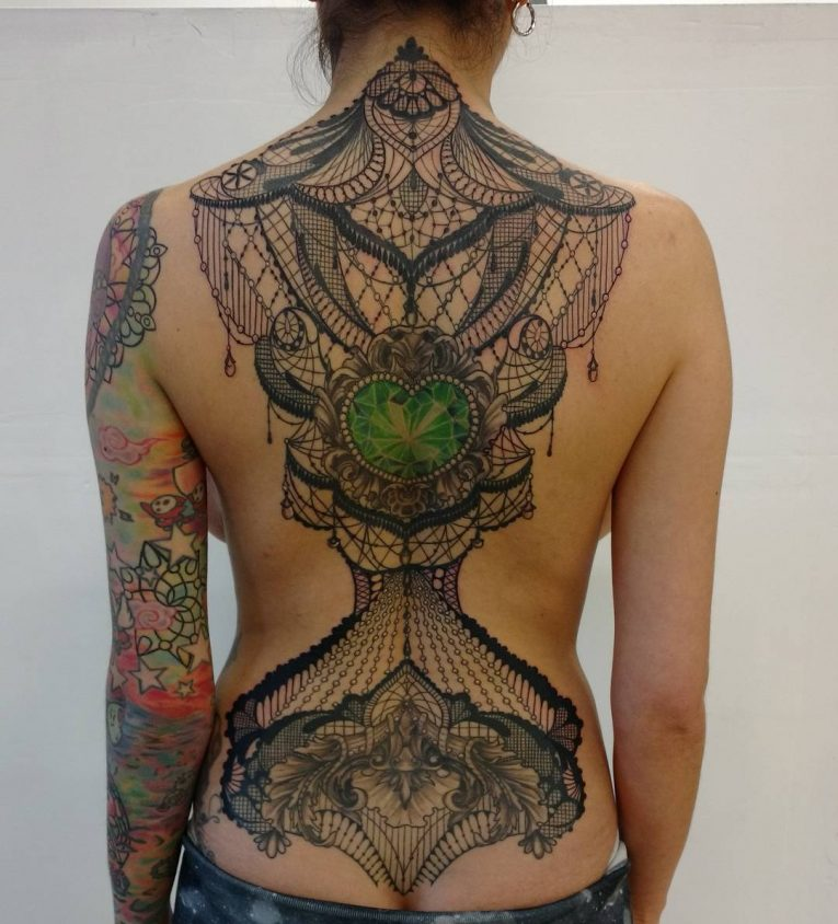 Lace Tattoo 91