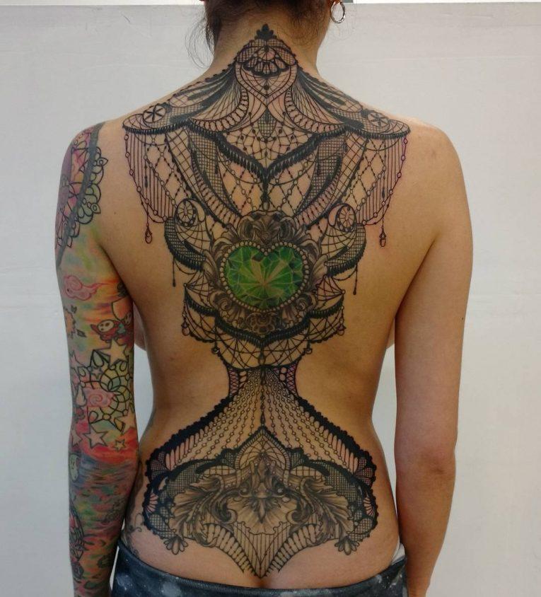 Lace Tattoo 91