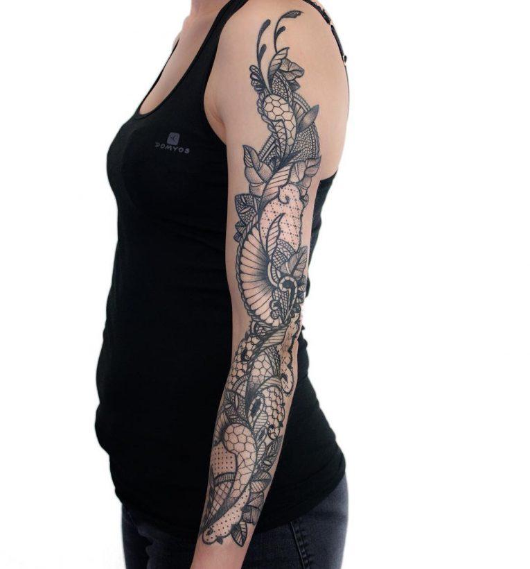 Lace Tattoo 93