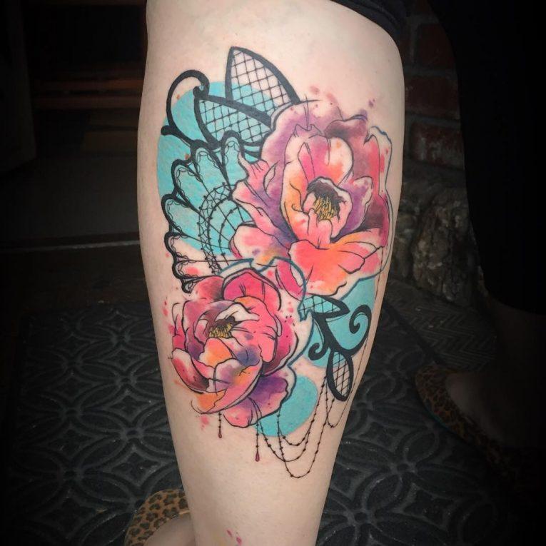 Lace Tattoo 97