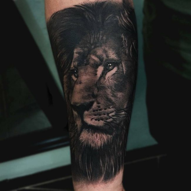 Lion Tattoo 100