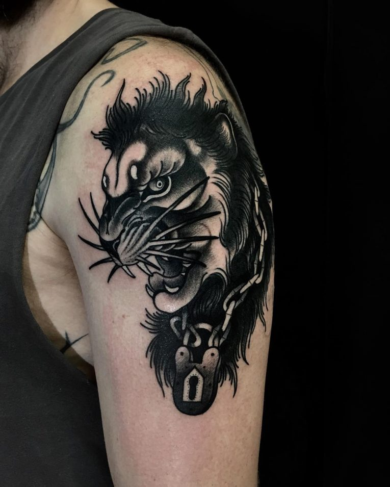 Lion Tattoo 102