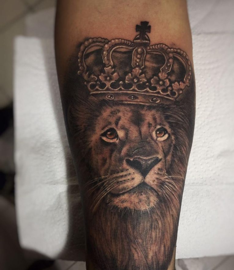 Lion Tattoo 103