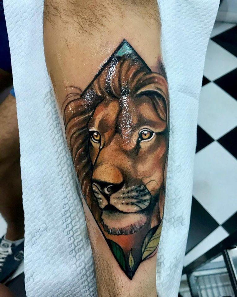 Lion Tattoo 105