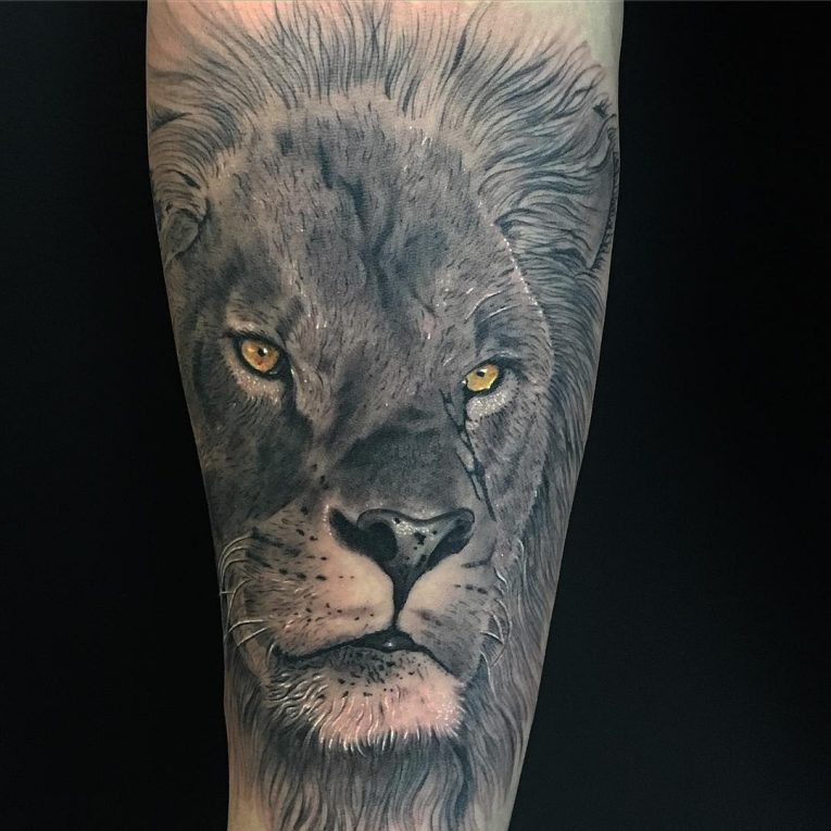 Lion Tattoo 109
