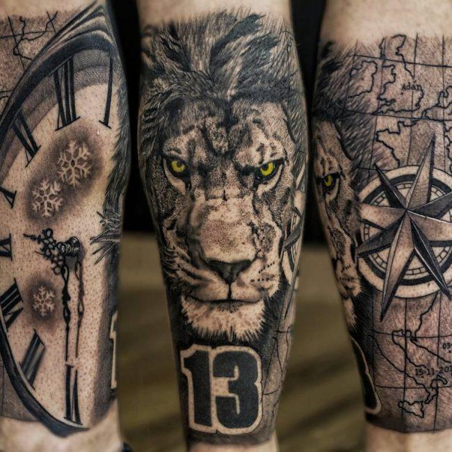 Lion Tattoo 94