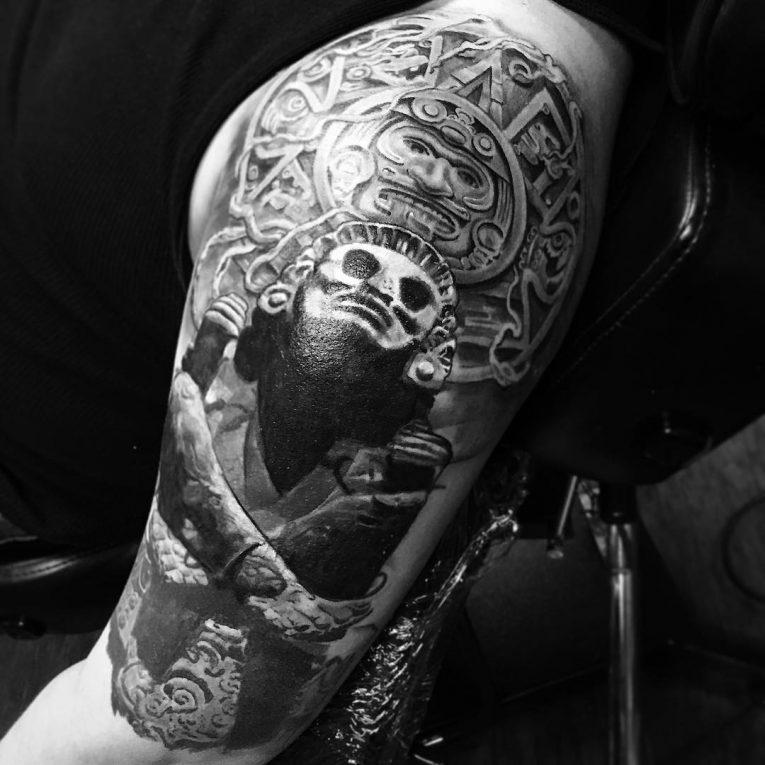 Mayan Tattoo 100