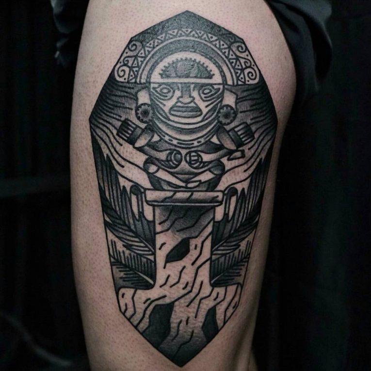 Mayan Tattoo 103