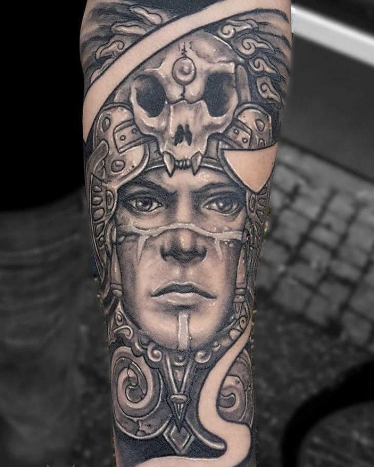 Mayan Tattoo 105