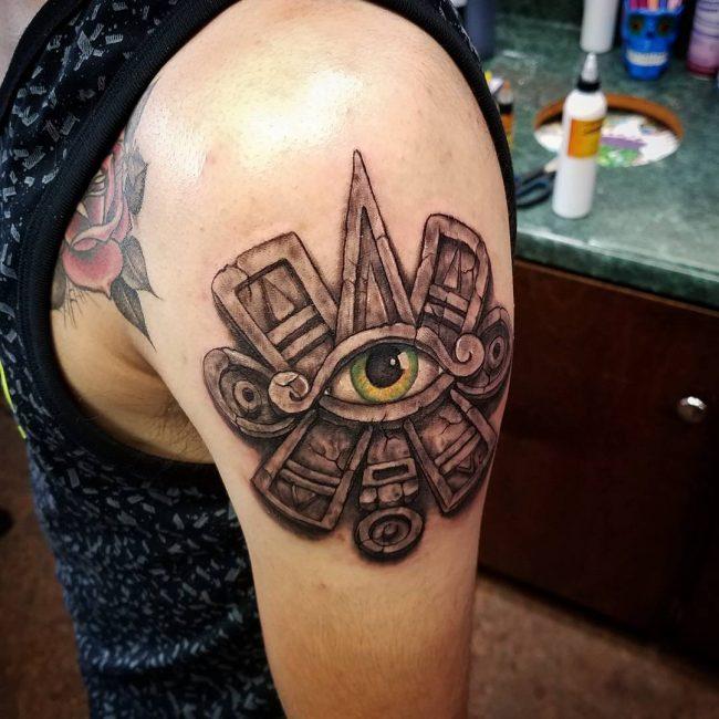 Mayan Tattoo 86
