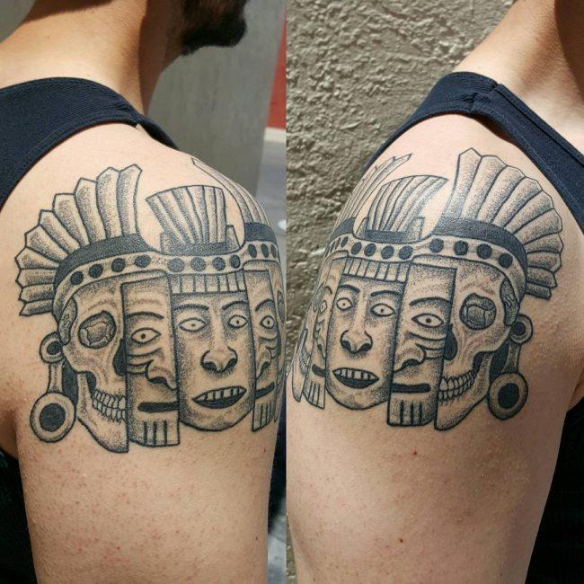 Mayan Tattoo 88