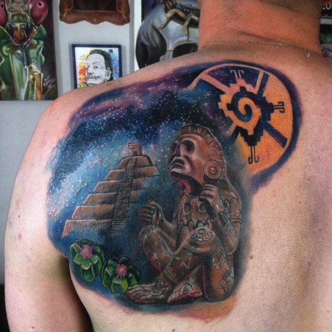 Mayan Tattoo 89