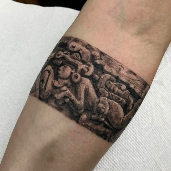 Mayan Tattoo 90