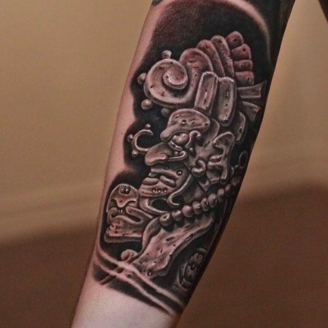 Mayan Tattoo 93