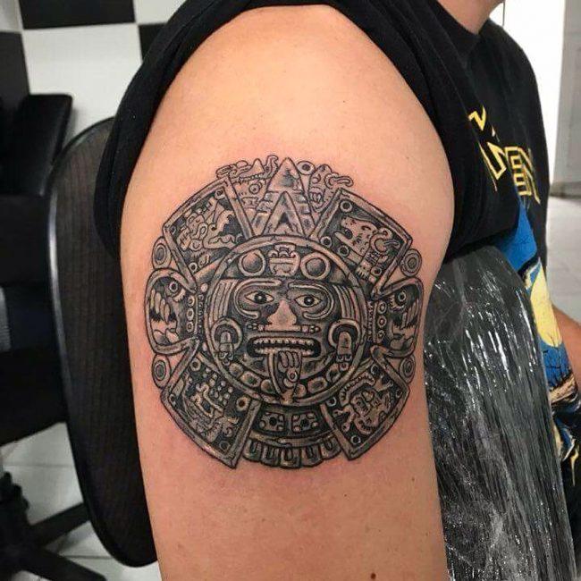 Mayan Tattoo 95