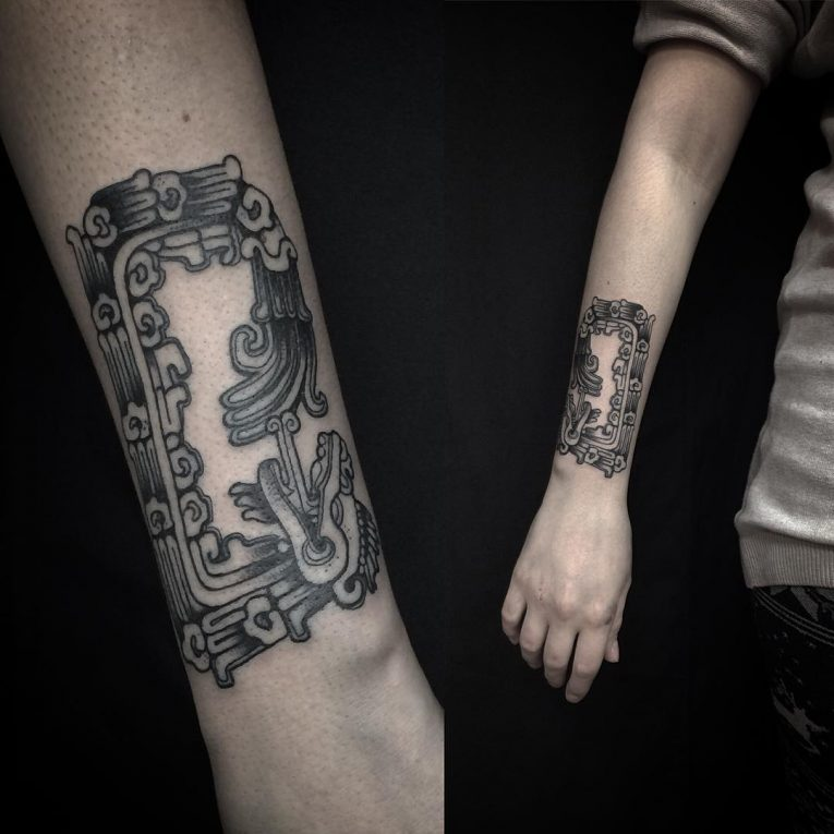 Mayan Tattoo 96