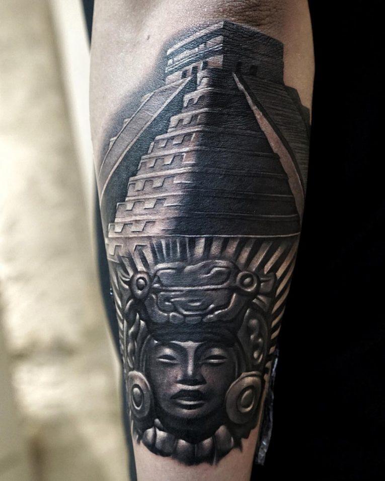 Mayan Tattoo 99