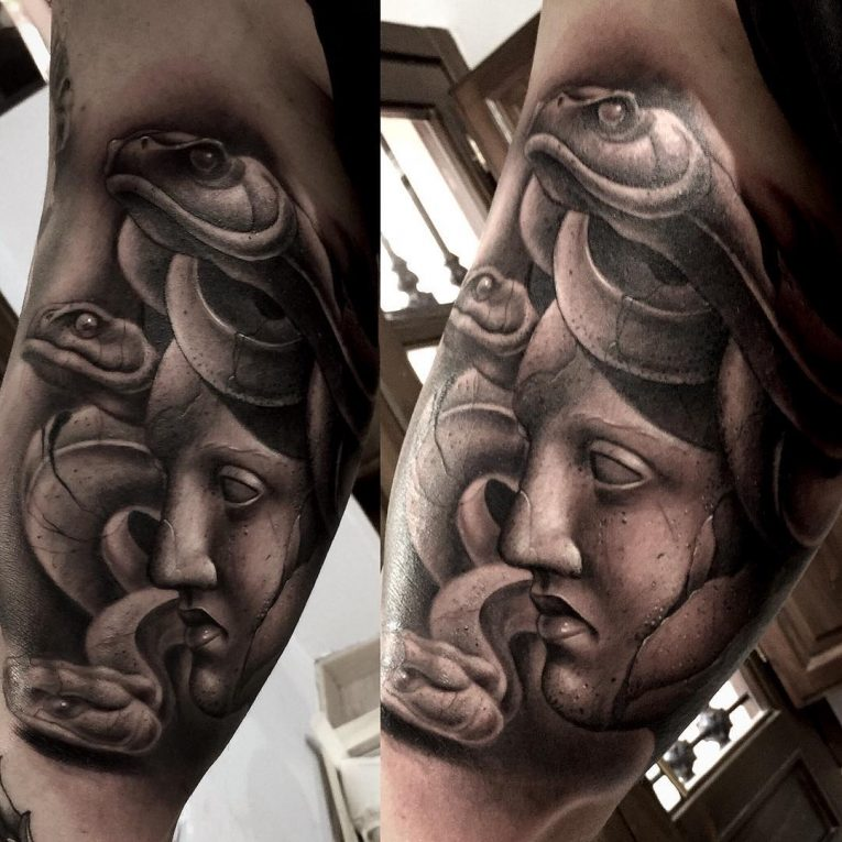Medusa Tattoo 100