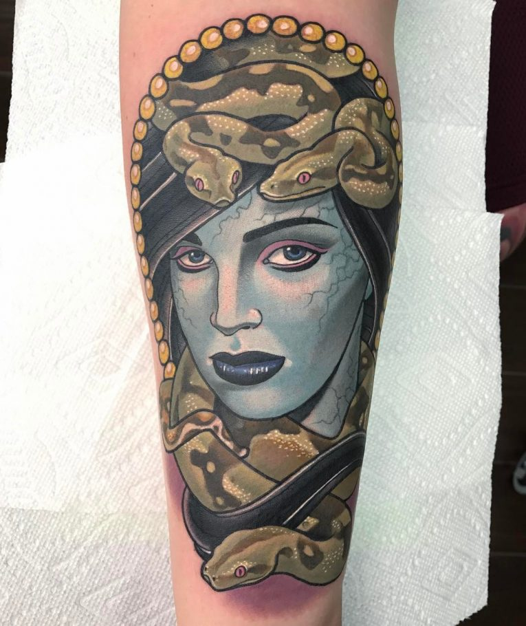 Medusa Tattoo 102