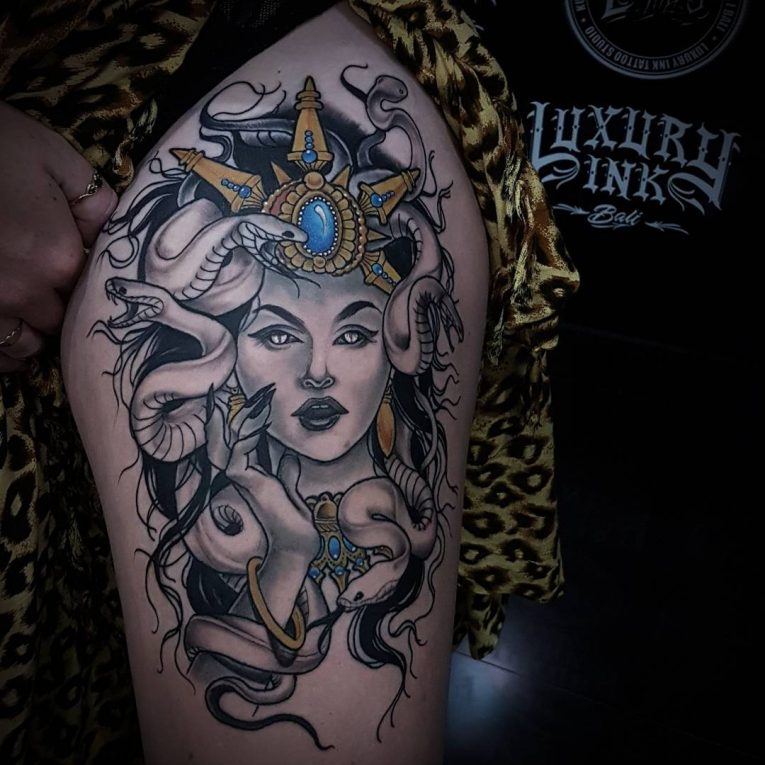 Medusa Tattoo 103