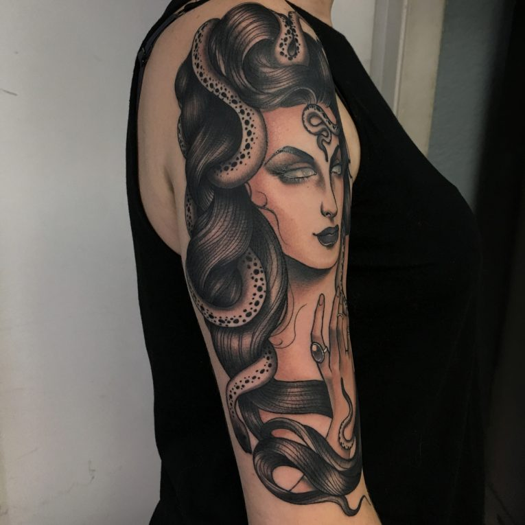 Medusa Tattoo 104