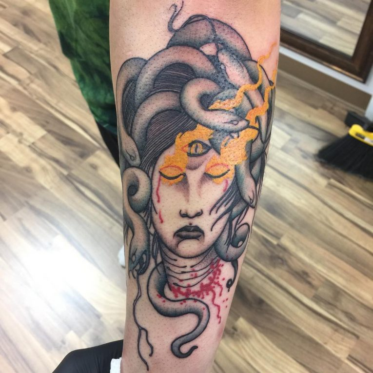 Medusa Tattoo 105