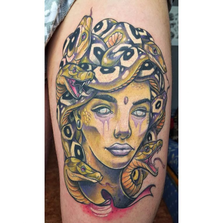 Medusa Tattoo 106