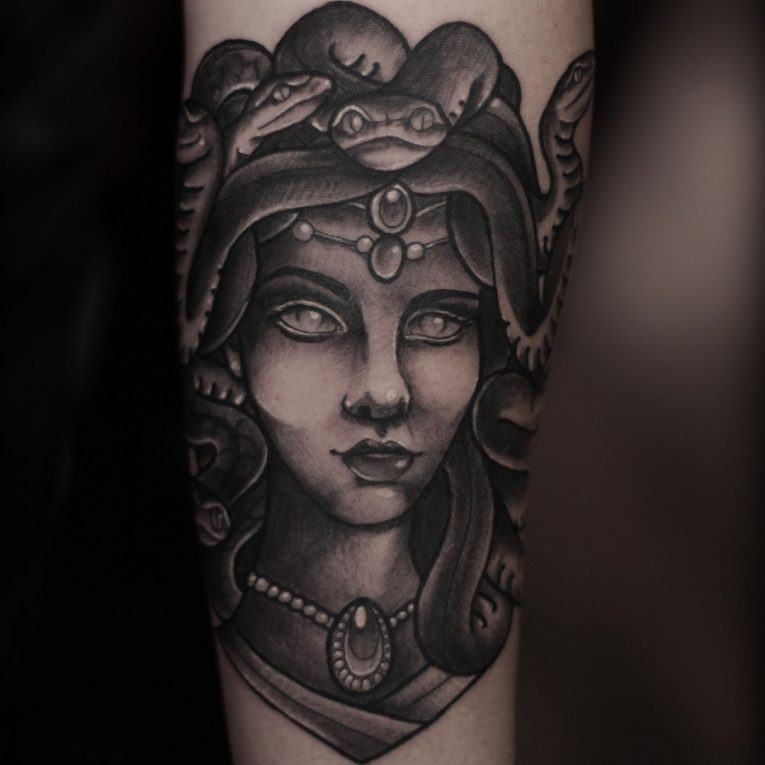 Medusa Tattoo 107