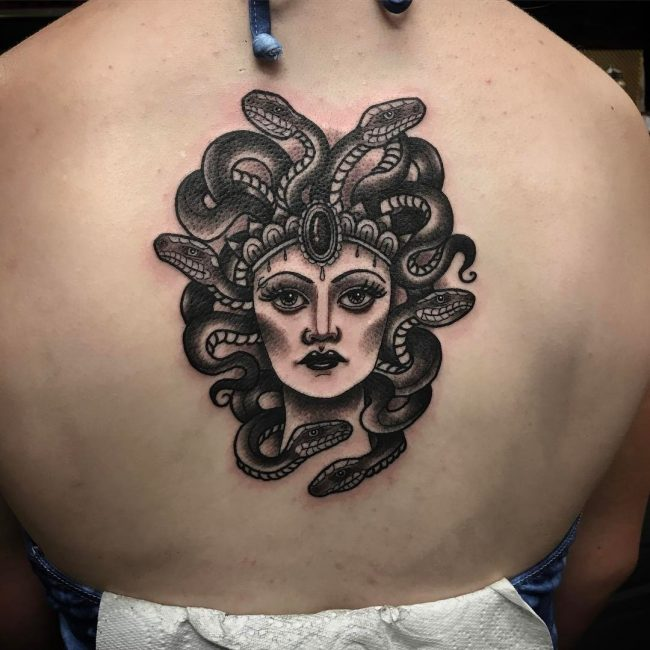Medusa Tattoo 86