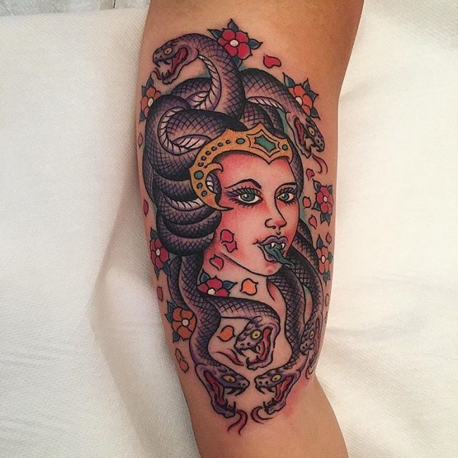 Medusa Tattoo 89