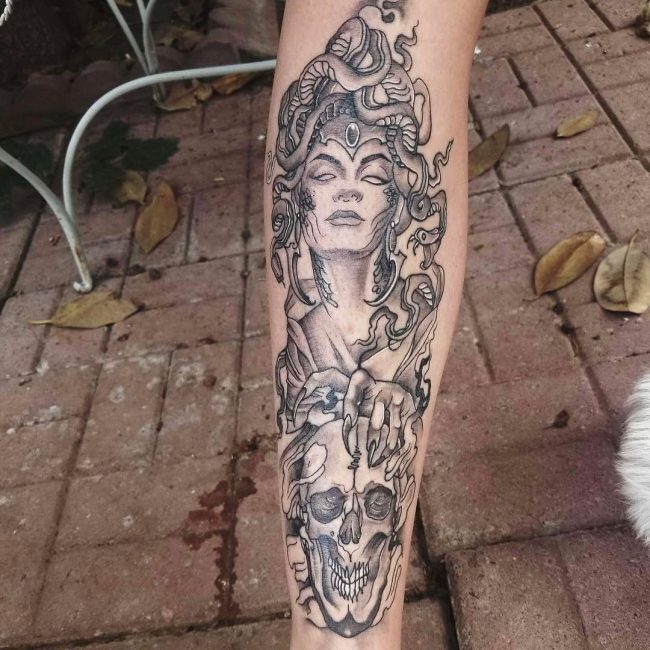Medusa Tattoo 90