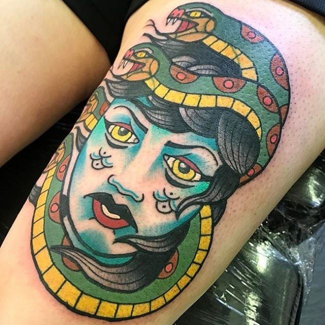 Medusa Tattoo 91