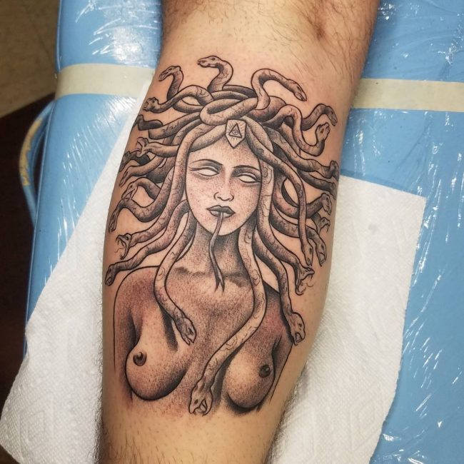 Medusa Tattoo 92