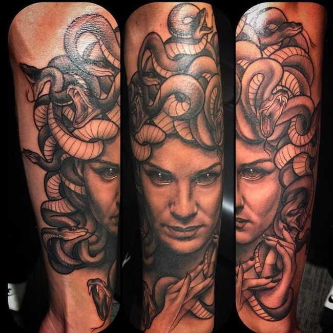 Medusa Tattoo 94