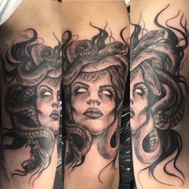Medusa Tattoo 95