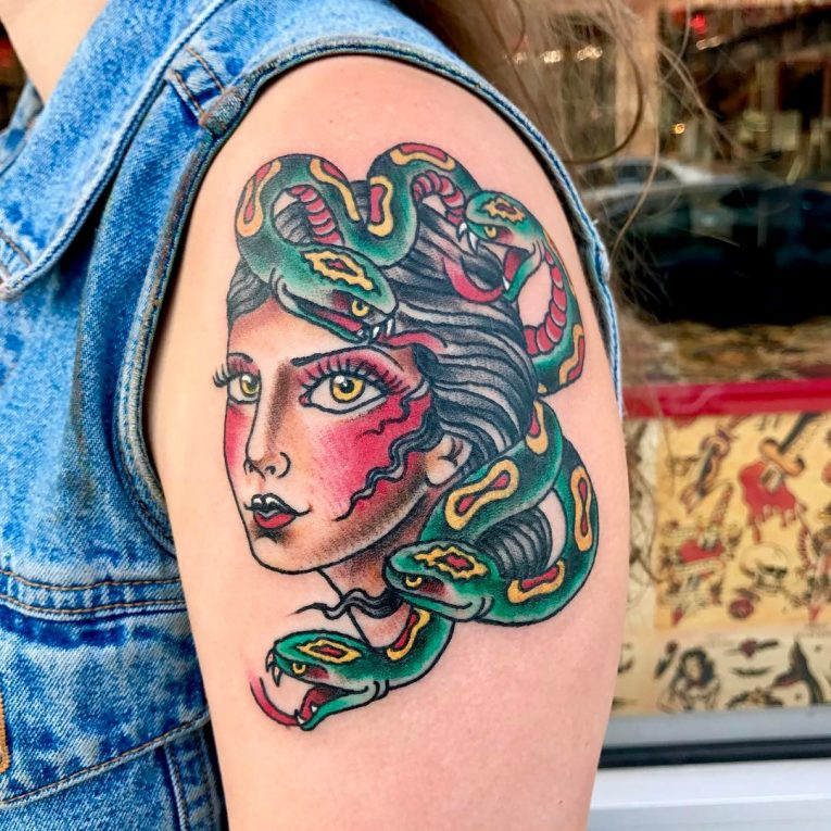 Medusa Tattoo 97