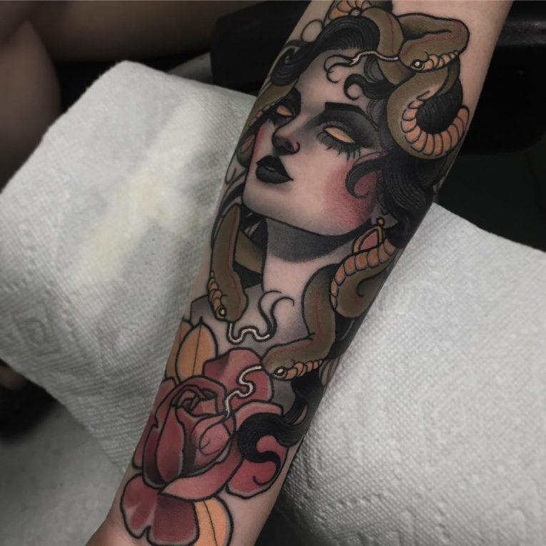 Medusa Tattoo 98