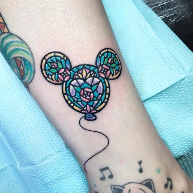 Mickey and Minnie Mouse Tattoo 46