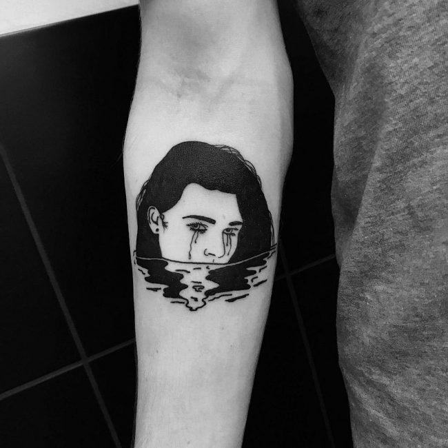 Minimalist Tattoo 107