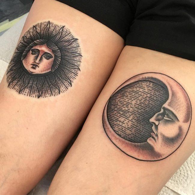 Moon Tattoo 105