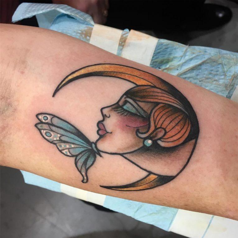 Moon Tattoo 113
