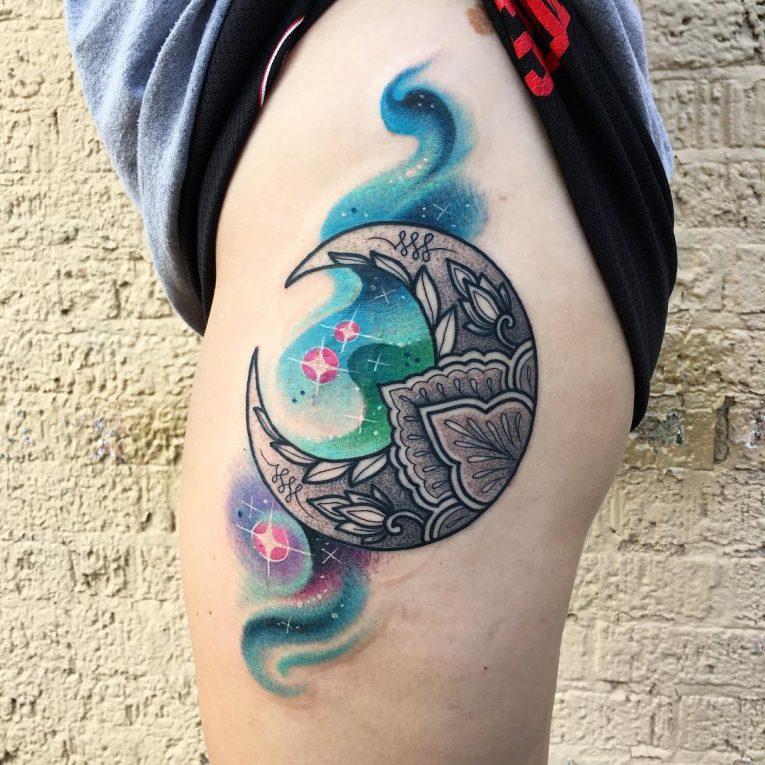 Moon Tattoo 114