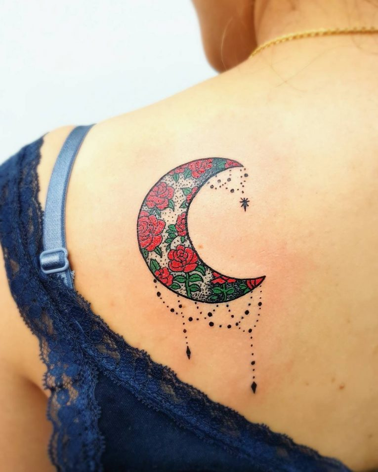 Moon Tattoo 115